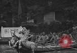 Image of annual gondola regatta Venice Italy, 1930, second 34 stock footage video 65675071708