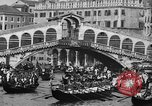 Image of annual gondola regatta Venice Italy, 1930, second 49 stock footage video 65675071708