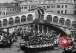 Image of annual gondola regatta Venice Italy, 1930, second 52 stock footage video 65675071708