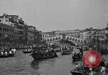 Image of annual gondola regatta Venice Italy, 1930, second 56 stock footage video 65675071708