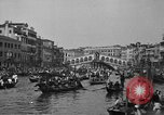 Image of annual gondola regatta Venice Italy, 1930, second 57 stock footage video 65675071708