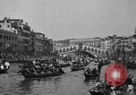 Image of annual gondola regatta Venice Italy, 1930, second 58 stock footage video 65675071708