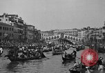 Image of annual gondola regatta Venice Italy, 1930, second 59 stock footage video 65675071708