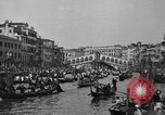 Image of annual gondola regatta Venice Italy, 1930, second 60 stock footage video 65675071708