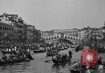 Image of annual gondola regatta Venice Italy, 1930, second 61 stock footage video 65675071708