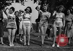 Image of frogs jump New York United States USA, 1939, second 5 stock footage video 65675071716