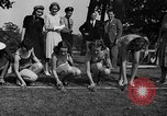 Image of frogs jump New York United States USA, 1939, second 7 stock footage video 65675071716