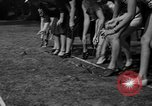 Image of frogs jump New York United States USA, 1939, second 11 stock footage video 65675071716