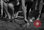 Image of frogs jump New York United States USA, 1939, second 18 stock footage video 65675071716
