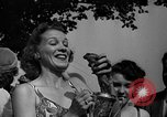 Image of frogs jump New York United States USA, 1939, second 26 stock footage video 65675071716