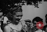 Image of frogs jump New York United States USA, 1939, second 29 stock footage video 65675071716