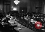 Image of Senate Hearings with Howard Hughes Washington DC USA, 1947, second 1 stock footage video 65675071720