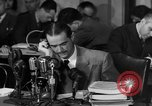 Image of Senate Hearings with Howard Hughes Washington DC USA, 1947, second 4 stock footage video 65675071720
