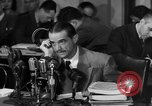 Image of Senate Hearings with Howard Hughes Washington DC USA, 1947, second 5 stock footage video 65675071720