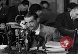 Image of Senate Hearings with Howard Hughes Washington DC USA, 1947, second 6 stock footage video 65675071720