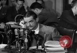 Image of Senate Hearings with Howard Hughes Washington DC USA, 1947, second 9 stock footage video 65675071720