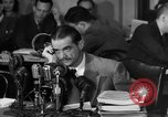 Image of Senate Hearings with Howard Hughes Washington DC USA, 1947, second 10 stock footage video 65675071720