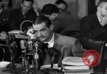 Image of Senate Hearings with Howard Hughes Washington DC USA, 1947, second 11 stock footage video 65675071720