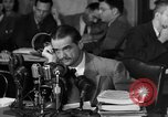 Image of Senate Hearings with Howard Hughes Washington DC USA, 1947, second 12 stock footage video 65675071720