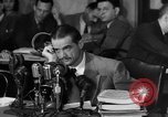 Image of Senate Hearings with Howard Hughes Washington DC USA, 1947, second 13 stock footage video 65675071720