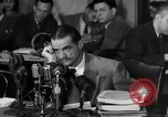 Image of Senate Hearings with Howard Hughes Washington DC USA, 1947, second 14 stock footage video 65675071720