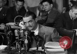 Image of Senate Hearings with Howard Hughes Washington DC USA, 1947, second 17 stock footage video 65675071720