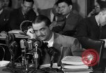 Image of Senate Hearings with Howard Hughes Washington DC USA, 1947, second 18 stock footage video 65675071720