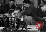 Image of Senate Hearings with Howard Hughes Washington DC USA, 1947, second 19 stock footage video 65675071720