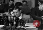 Image of Senate Hearings with Howard Hughes Washington DC USA, 1947, second 20 stock footage video 65675071720