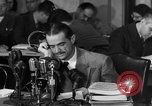 Image of Senate Hearings with Howard Hughes Washington DC USA, 1947, second 28 stock footage video 65675071720