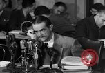 Image of Senate Hearings with Howard Hughes Washington DC USA, 1947, second 31 stock footage video 65675071720
