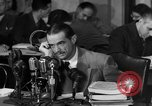 Image of Senate Hearings with Howard Hughes Washington DC USA, 1947, second 32 stock footage video 65675071720