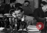 Image of Senate Hearings with Howard Hughes Washington DC USA, 1947, second 34 stock footage video 65675071720