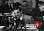 Image of Senate Hearings with Howard Hughes Washington DC USA, 1947, second 37 stock footage video 65675071720