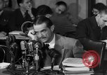 Image of Senate Hearings with Howard Hughes Washington DC USA, 1947, second 38 stock footage video 65675071720
