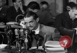 Image of Senate Hearings with Howard Hughes Washington DC USA, 1947, second 39 stock footage video 65675071720