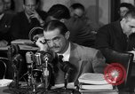 Image of Senate Hearings with Howard Hughes Washington DC USA, 1947, second 40 stock footage video 65675071720