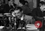 Image of Senate Hearings with Howard Hughes Washington DC USA, 1947, second 42 stock footage video 65675071720