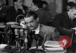 Image of Senate Hearings with Howard Hughes Washington DC USA, 1947, second 43 stock footage video 65675071720