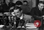 Image of Senate Hearings with Howard Hughes Washington DC USA, 1947, second 46 stock footage video 65675071720
