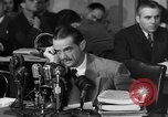 Image of Senate Hearings with Howard Hughes Washington DC USA, 1947, second 47 stock footage video 65675071720