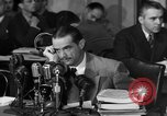 Image of Senate Hearings with Howard Hughes Washington DC USA, 1947, second 48 stock footage video 65675071720
