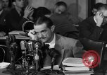 Image of Senate Hearings with Howard Hughes Washington DC USA, 1947, second 52 stock footage video 65675071720