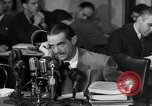 Image of Senate Hearings with Howard Hughes Washington DC USA, 1947, second 54 stock footage video 65675071720