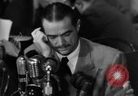 Image of Senate Hearings with Howard Hughes Washington DC USA, 1947, second 55 stock footage video 65675071720