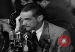 Image of Senate Hearings with Howard Hughes Washington DC USA, 1947, second 57 stock footage video 65675071720