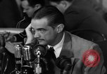 Image of Senate Hearings with Howard Hughes Washington DC USA, 1947, second 58 stock footage video 65675071720