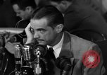 Image of Senate Hearings with Howard Hughes Washington DC USA, 1947, second 59 stock footage video 65675071720