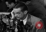 Image of Senate Hearings with Howard Hughes Washington DC USA, 1947, second 60 stock footage video 65675071720