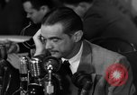 Image of Senate Hearings with Howard Hughes Washington DC USA, 1947, second 61 stock footage video 65675071720